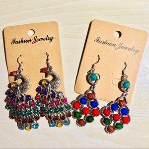 Jewelry - (✨3/$15) Colorful Earrings